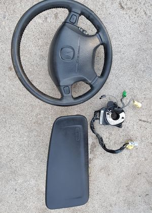 Integra steering wheel and bag - Gsr for Sale in San Bernardino, CA