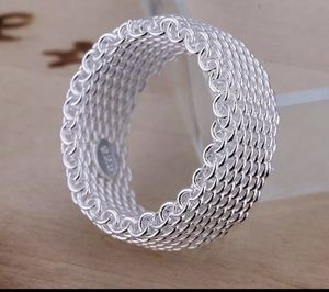 Brand new 925 mesh ring size 7 for Sale in Seattle, WA