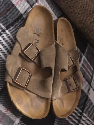 Birkenstock's Betula Suede Buckle Sandals for Sale in Hurst, TX