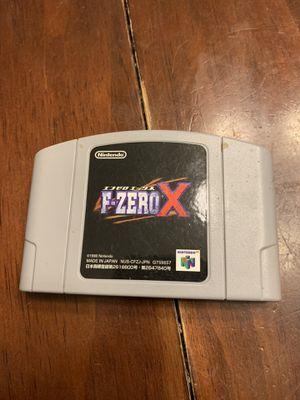 F-zero x N64 for Sale in Houston, TX