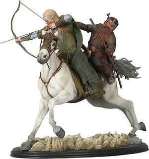 Legolas and Gimli on Arod Statue, LOTR, sideshow weta collectibles, The Lord of the Rings, *DAMAGED* for Sale in Los Angeles, CA