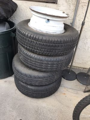 Trailer rims and tires for Sale in Covina, CA