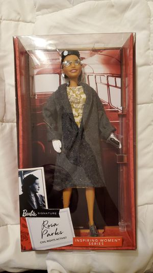 New Rosa Parks Barbie for Sale in Bowie, MD