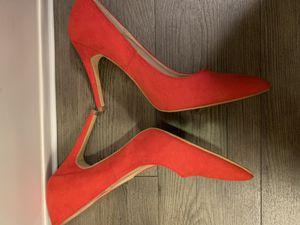 Red sz 8 heels for Sale in Nashville, TN