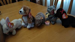 Set of five rare beanie babys for Sale in Walnut Creek, CA