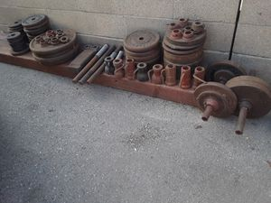 Original steel weights for Sale in Gardena, CA