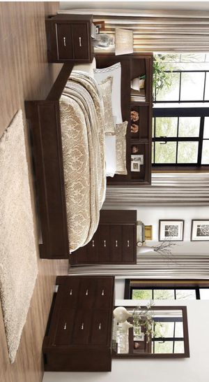 Tahoe Brown Panel Bedroom Set | TA430 MYCO for Sale in Austin, TX