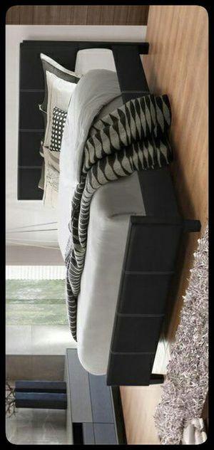 🚩KING🚩 Gerbera Black King Panel Bed for Sale in Hyattsville, MD