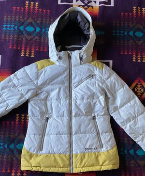 Womens MARMOT 650-Fill Goose Down Parka Winter Snow Jacket Coat Size Small for Sale in Martinez, CA