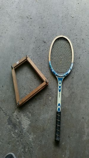 Wood tennis racket - new, vintage for Sale in Chicago, IL