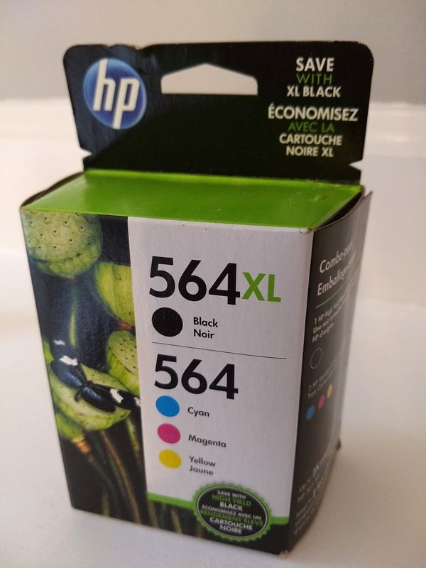 HP 564xl combo ink pack. Unopened more than 50% off