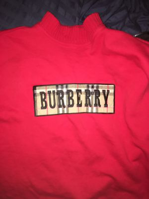 Burberry crewneck/turtle neck for Sale in Issaquah, WA
