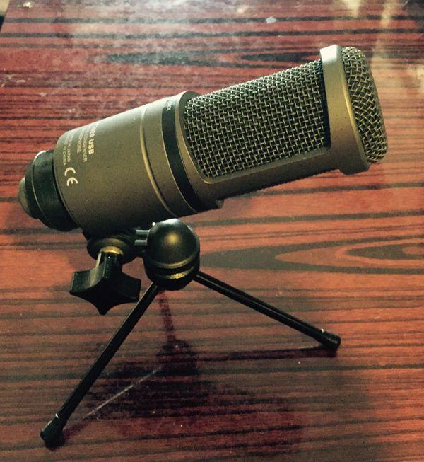 Audio-technica - AT2020 USB Cardioid Condenser Microphone