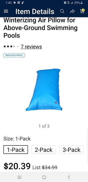 AIR PILLOW SWIMMING for Sale in Bethlehem, PA