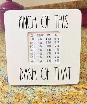 Kitchen Measurement Sign for Sale in Surprise, AZ