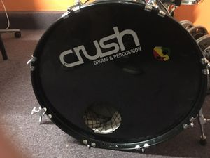 Complete Drum set, Remo heads for Sale in Lanham, MD