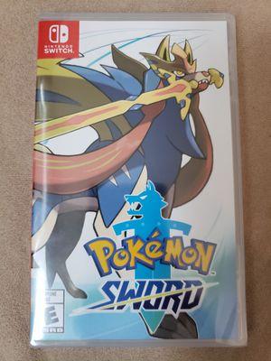 Pokemon sword. Brand new sealed. 65 bucks for Sale in Corona, CA