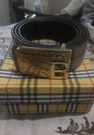 BURBERRY AUTHENTIC BELT for Sale in Aspen Hill, MD