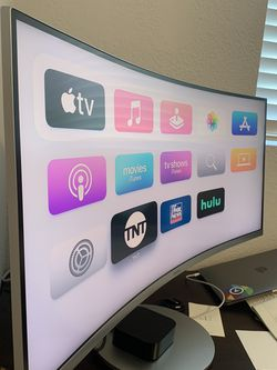 """34"""" LED Curved Samsung Monitor 100Hz for Sale in Martinez,  CA"""