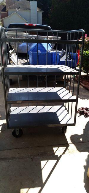 Heavy duty rolling shelf for Sale in Duluth, GA