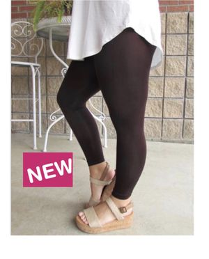 New Solid Brown Leggings Soft as Lularoe for Sale in Saginaw, MI