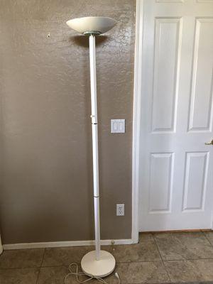 Halogen Dimmable Floor Lamp Light, White for Sale in Glendale, AZ