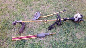 Edger + hedge trimmer + string trimmer kit for Sale in Manteca, CA