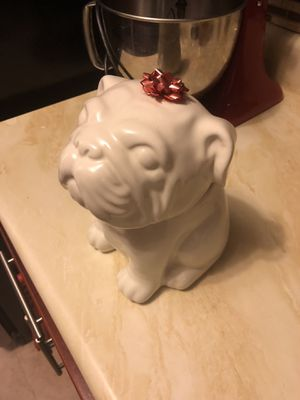 Bulldog Cookie Jar for Sale in Queens, NY