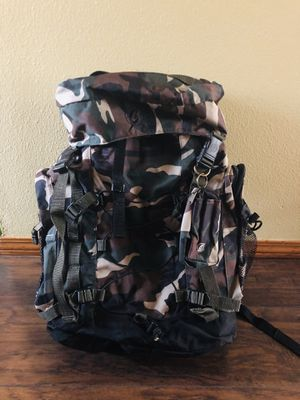 camouflage Hiking / hunting backpack for Sale in Hillsboro, OR