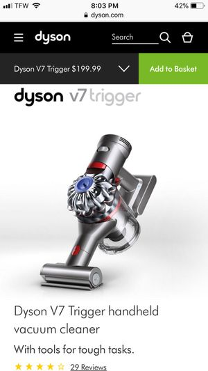 Dyson v7 trigger with box for Sale in Sudley Springs, VA