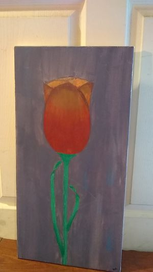 Tulip canvas for Sale in Modesto, CA