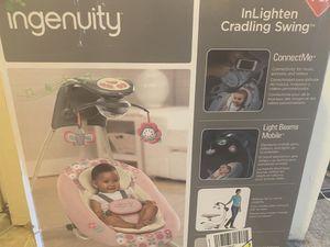 Ingenuity in lighten cradle swing for Sale in St. Louis, MO