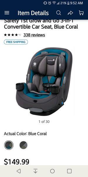 3-in-1 Car Seat for Sale in Longview, WA