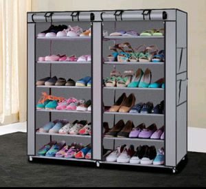 New 6 Tier / 2 Row Shoe Closet/ Organizer for Sale in Holly Hill, FL