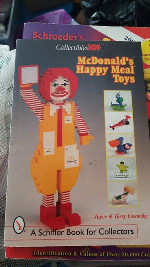 McDonald's happy meal toys book collection for Sale in Portland, OR
