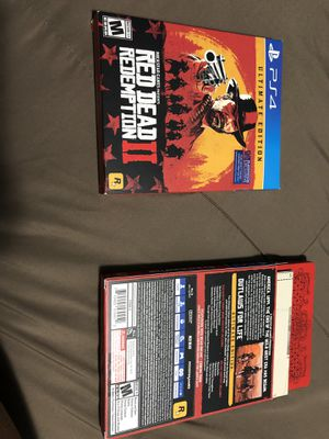 Red Dead Redemption 2 Ultimate Edition with expansion packs for Sale in Los Angeles, CA