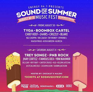 SOS (Sound of Summer) Music Fest for Sale in San Antonio, TX