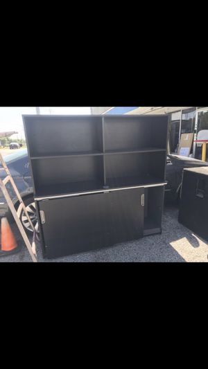 5ft desk shelf credenza for Sale in Houston, TX