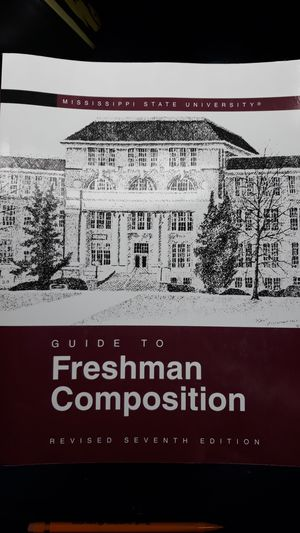 MSU text book for Freshman Comp. for Sale in Starkville, MS