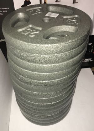 Weights 25lb Standard 1 inch plates $50 each (Check out my tower) for Sale in Covina, CA
