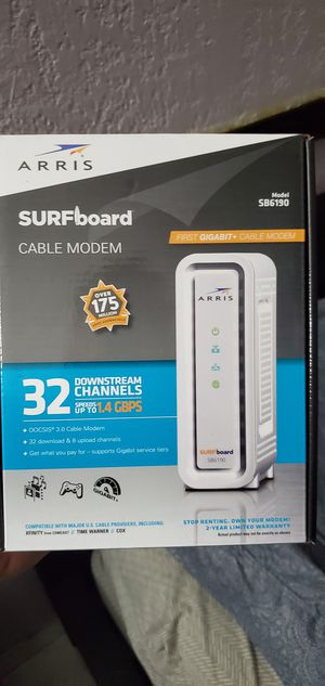 Cable modem infinity for Sale in Pembroke Pines, FL