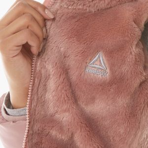 Very beautiful furry pink Reebok Hoodie Size medium new With Tags for Sale in San Diego, CA