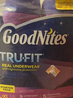 NEW GoodNites Girls L/XL Tru-Fit Real Underwear Nighttime Protection Starter Pack for Sale in San Ramon,  CA