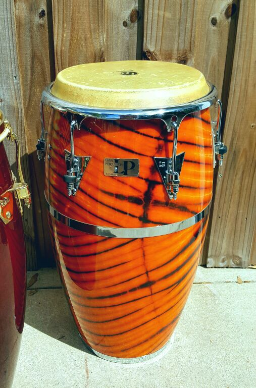 excellent latin percussion lp congas and bongo set for sale in orange city fl offerup. Black Bedroom Furniture Sets. Home Design Ideas