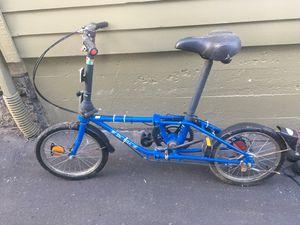 VINTAGE DAHON V - 5 SPEED FOLDING BIKE BICYCLE for Sale in Portland, OR