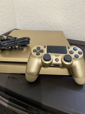 PS4 Slim 1TB Gold Edition Gold Remote Power Cable ASKING $230 for Sale in Stockton, CA