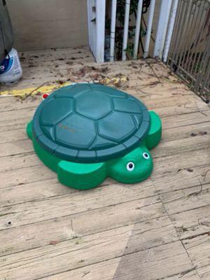 Turtle sand box $5 / Thomas the train bike $25 for Sale in Tallahassee, FL