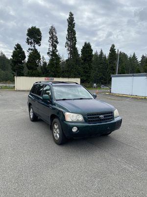 2002 Toyota Highlander 172k for Sale in Tacoma, WA
