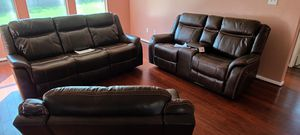 BEAUTIFUL LIVING ROOM 3 PCS 39 down payment wholesale price for Sale in Dallas, TX