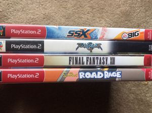 4 Classic PS2 Games for Sale in Fairfax, VA